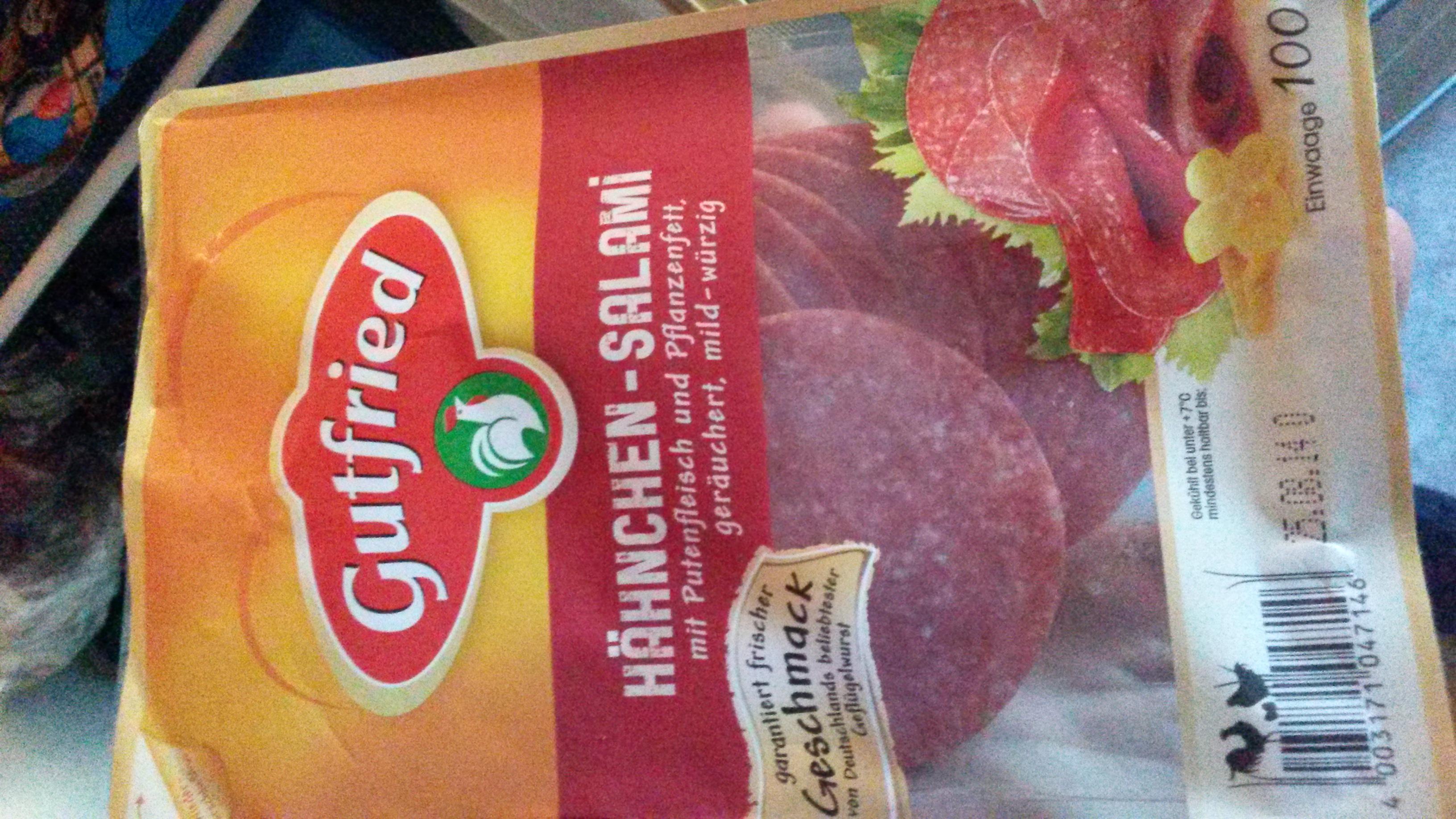 Geflügel Salami