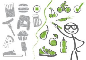 Ernährungsumstellung – gesund leben