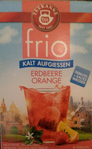 frio teekanne erbeere orange