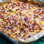 Low Carb Pizza (Schüttelpizza) - Das Beste Rezept für abends