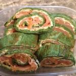 Das Lachs Spinat Rolle Rezept – Super lecker und Low Carb!