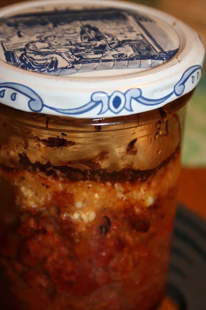 Sauerkrautauflauf im Glas gebacken, konserviert