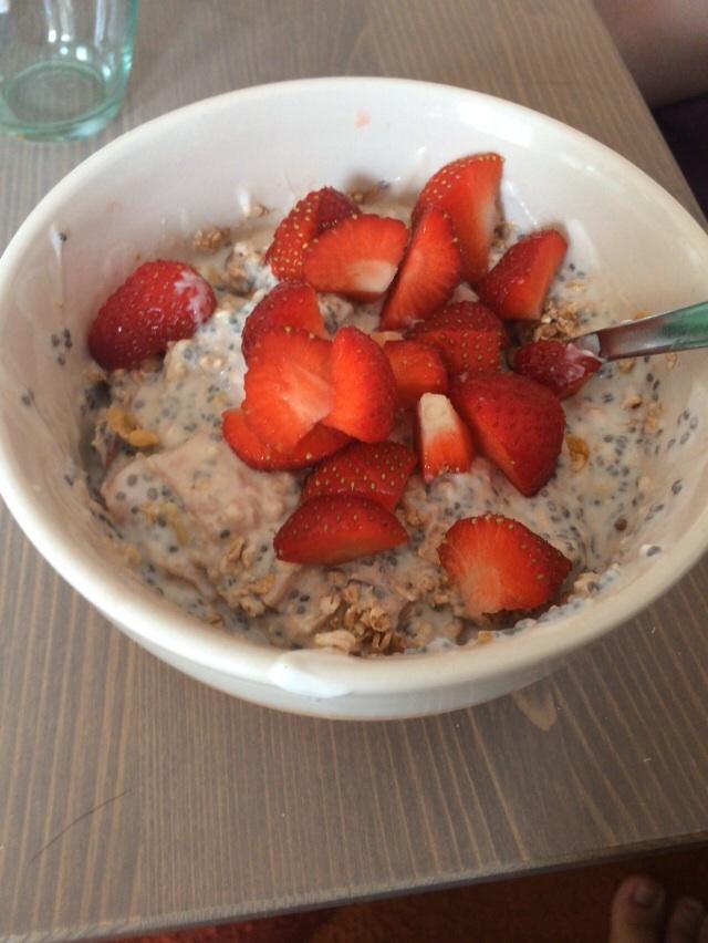 Müsli Frühstück
