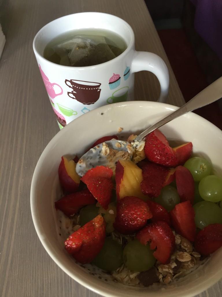 Frühstück mittwoch