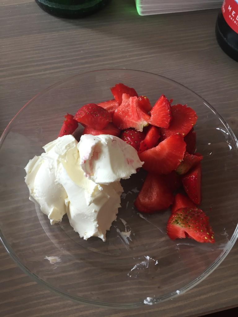 Mascapone Erdbeeren 2