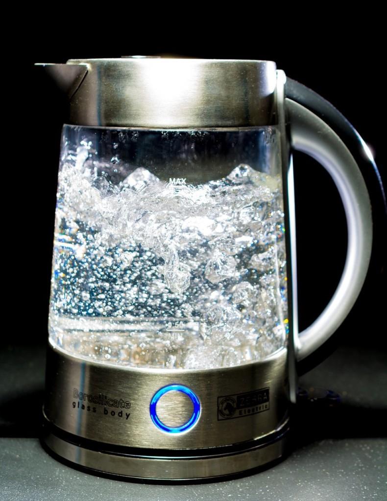 kochendes Wasser