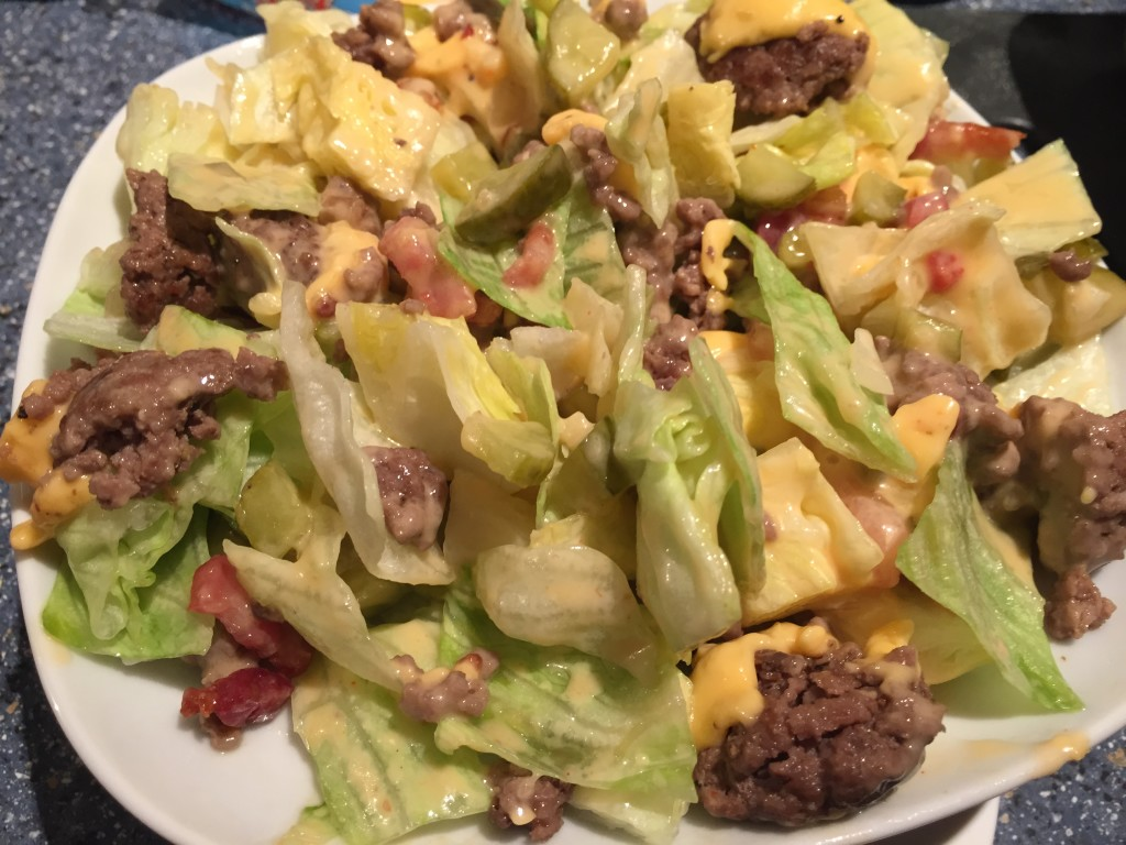 Big Mac Salat - Portion