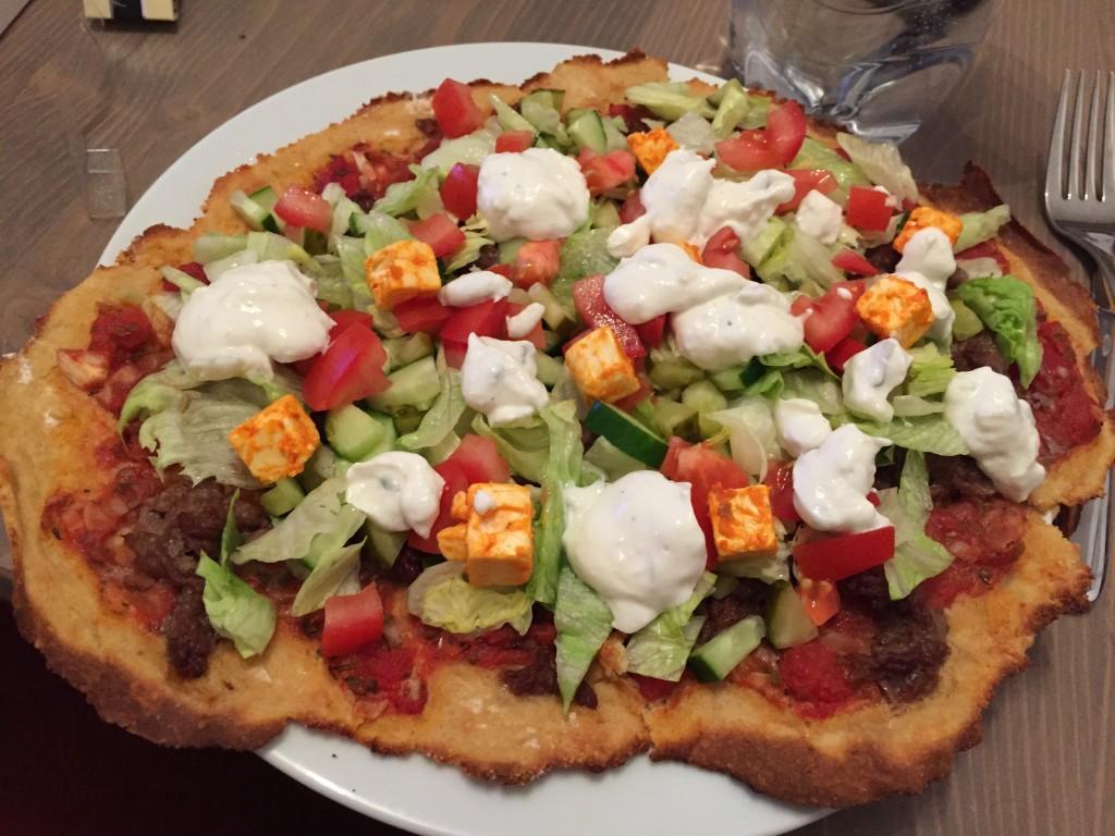 Low Carb Lahmacun - Low Carb türkische Pizza