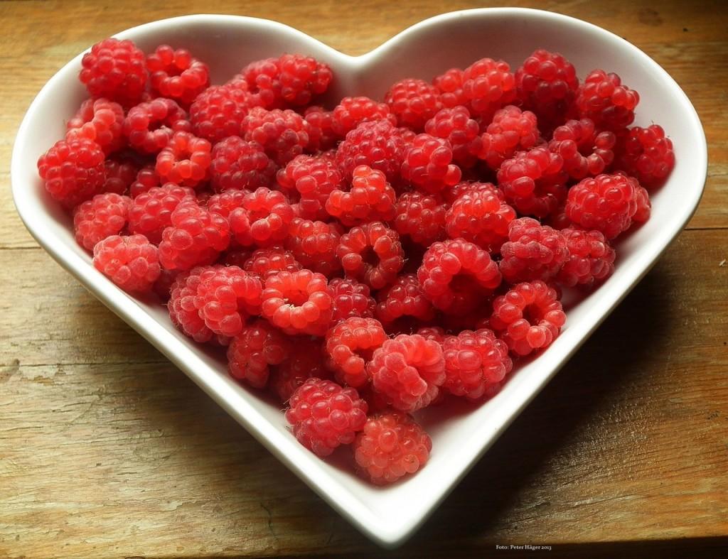 Himbeeren Herz