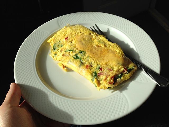 omelette gemüse