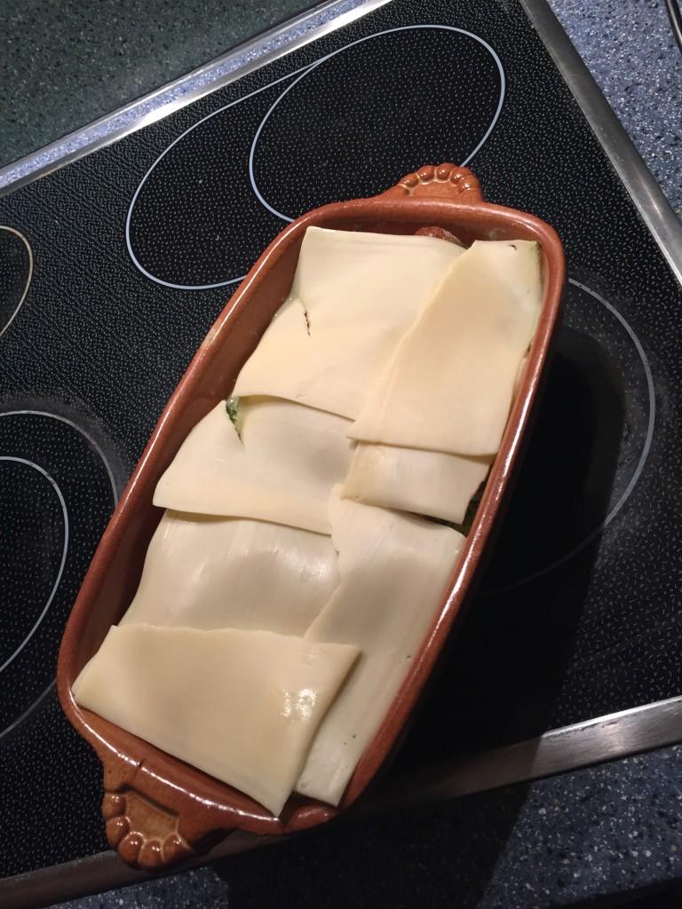 Käse drüber