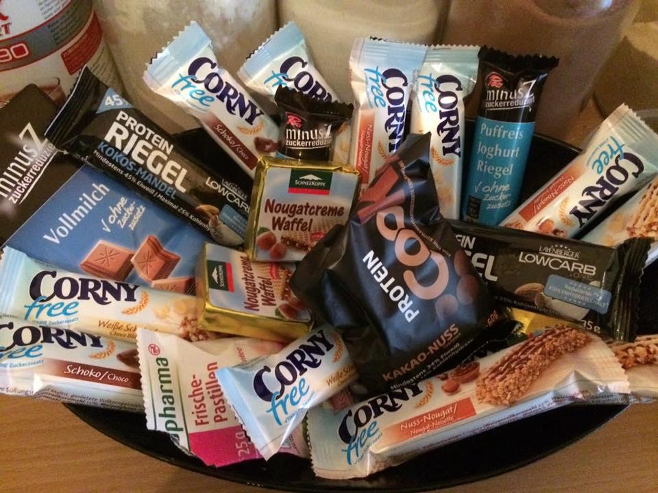 Süßigkeiten aus mehrwertigen Alkoholen