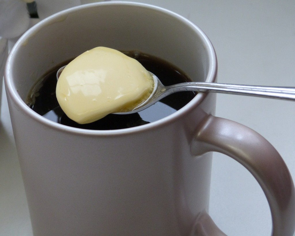 Butter in Kaffee