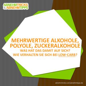 mehrwertige alkohole