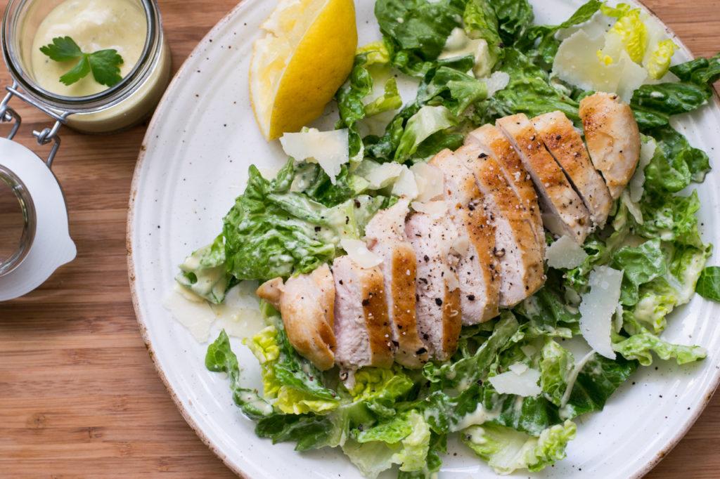 Ceasar Salad fertig