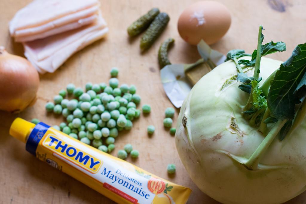 Zutaten Kohlrabi Salat