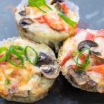 Überbackene Low Carb Gemüse-Muffins - gesund und lecker!