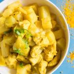 Extrem leckeres & einfaches Low Carb Hähnchen-Curry Rezept