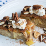 Extrem leckeres & einfaches Low Carb Apfelkuchen Rezept