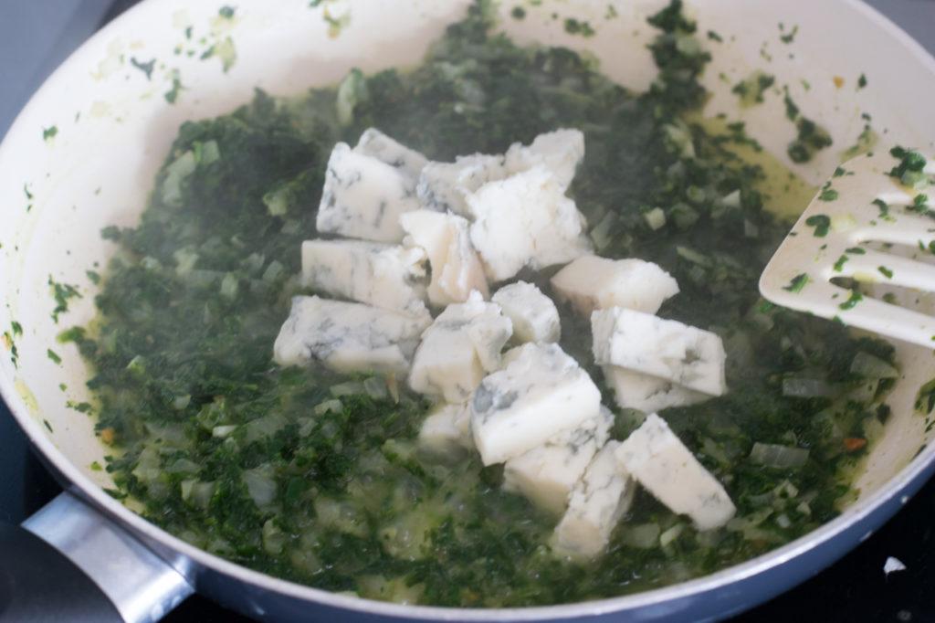 Gorgonzola schmelzen