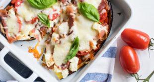 fertige Pizza Auberginen