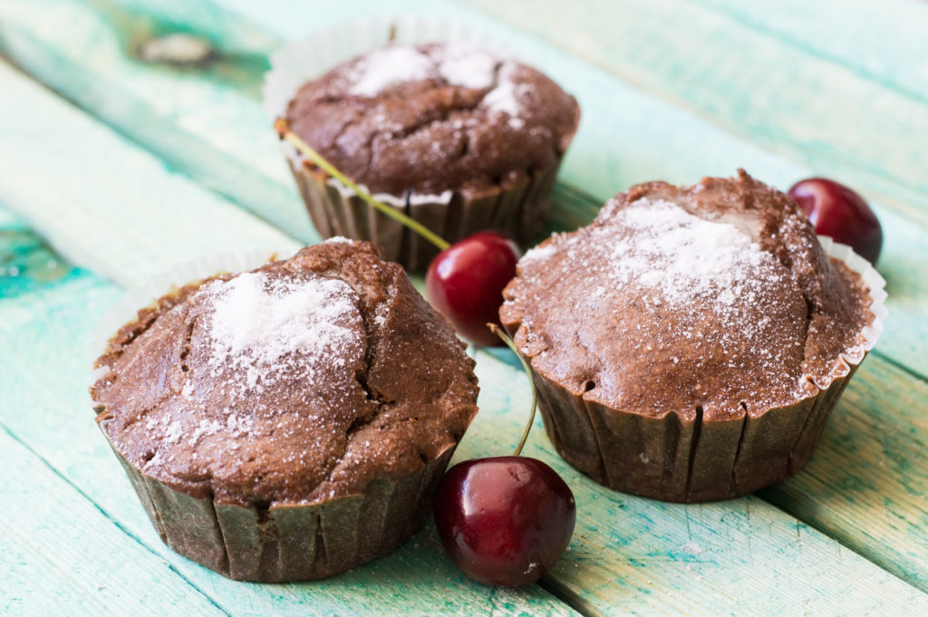 Low Carb Schoko-Haselnuss Muffins