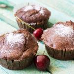 Super einfache Low Carb Schoko-Haselnuss Muffins!