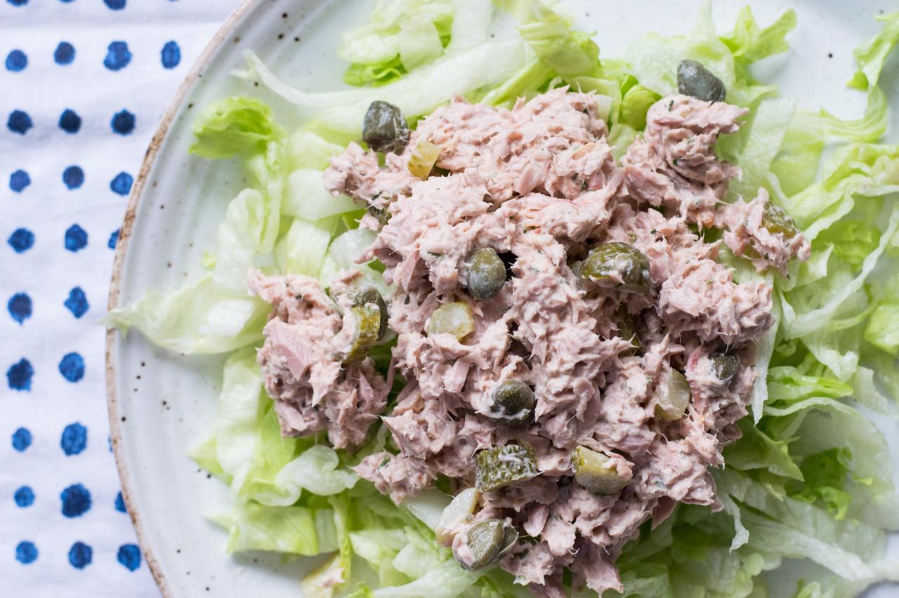 Angerichteter Salat