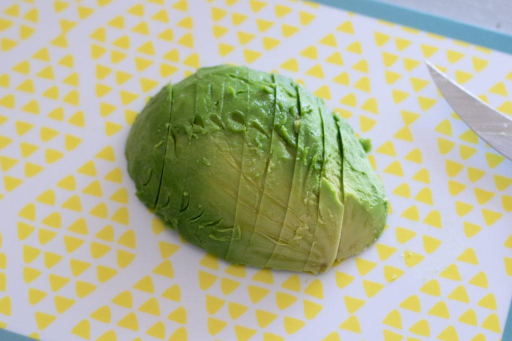 Avocado kleinschneiden