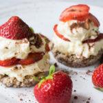Erdbeer Low Carb Tiramisu Törtchen - Unfassbar lecker!