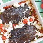 Gegrillte Low Carb Auberginen mit süßen Kirschtomaten