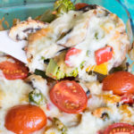 Super Leckere Low Carb Gemüse-Lasagne mit Auberginen