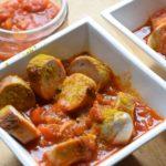 Köstliche Low Carb Currywurst - selbstgemacht!