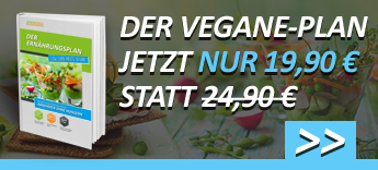 Der Vegane Plan jetzt nur 19,90€ statt 24,90€