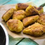Köstliche Low Carb Chicken Nuggets - selbstgemacht!