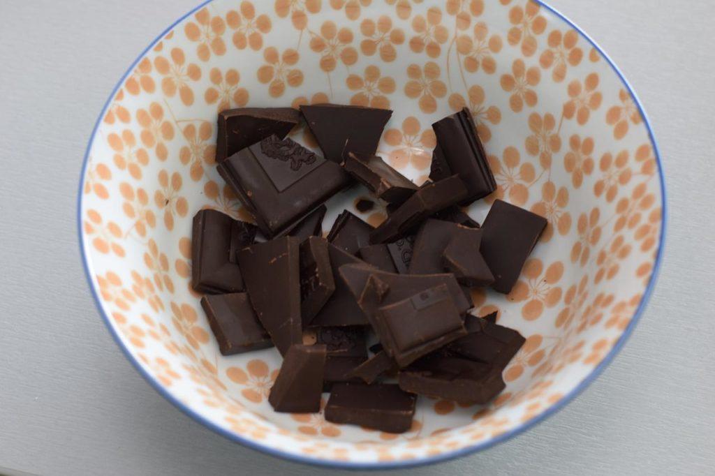 Schokolade zerkleinern