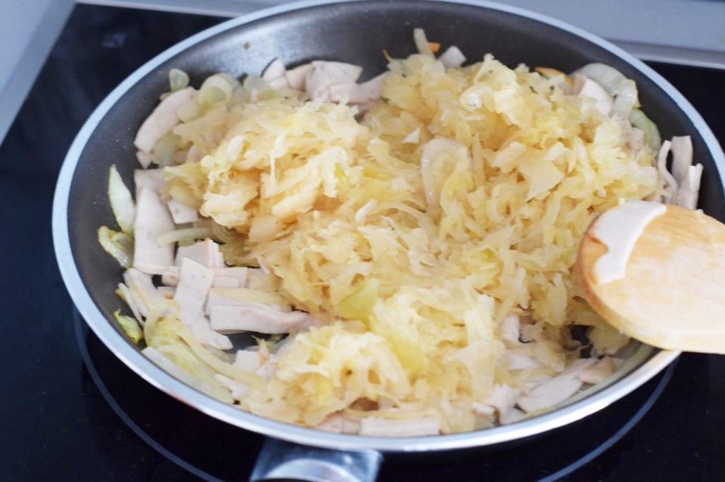 Sauerkraut andünsten