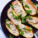 Köstliche und cremige Low Carb Thunfischröllchen