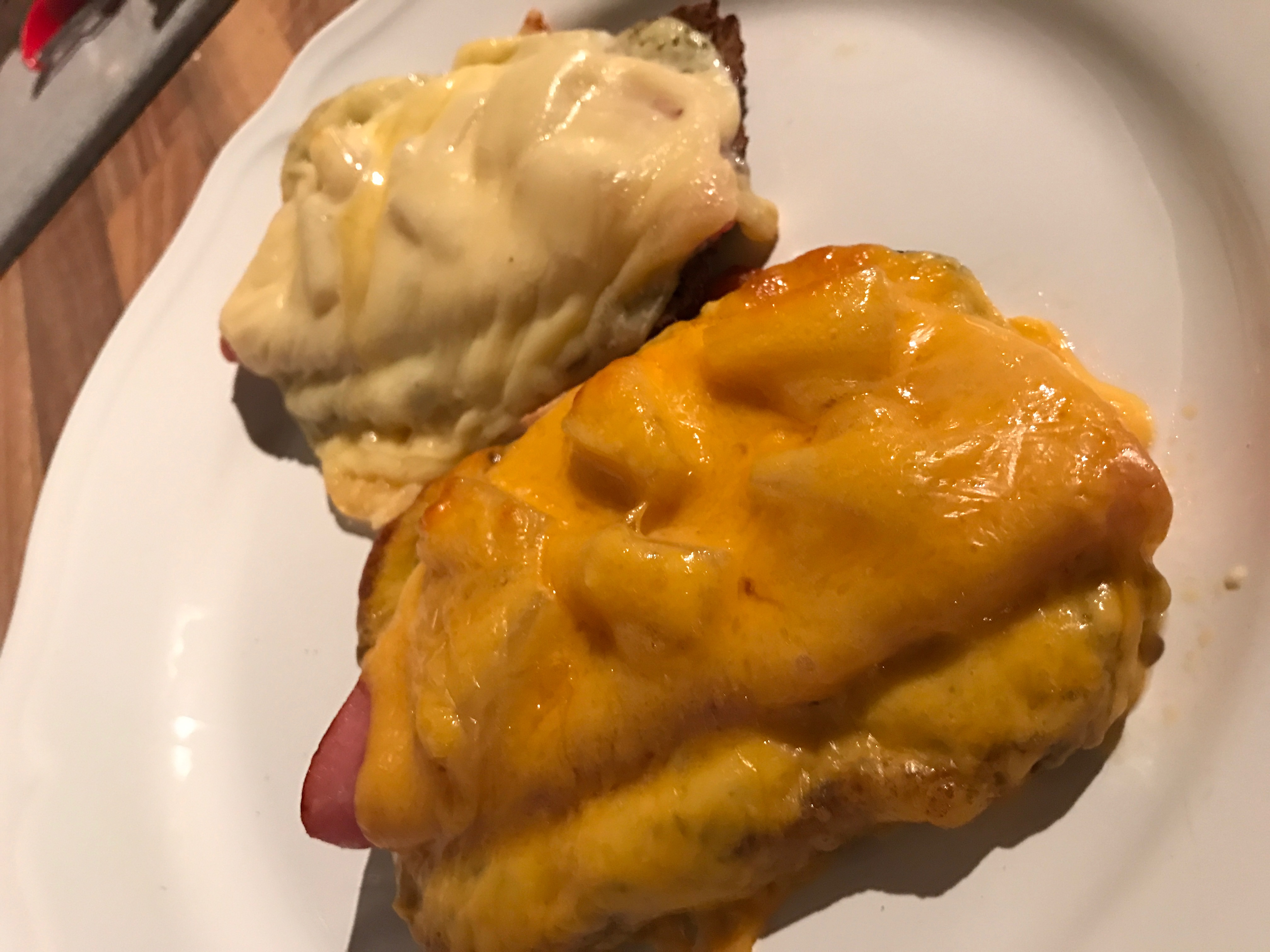 Low Carb Hawaii Toast Fertig
