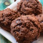 Saftige Low Carb Schokoladen Brötchen