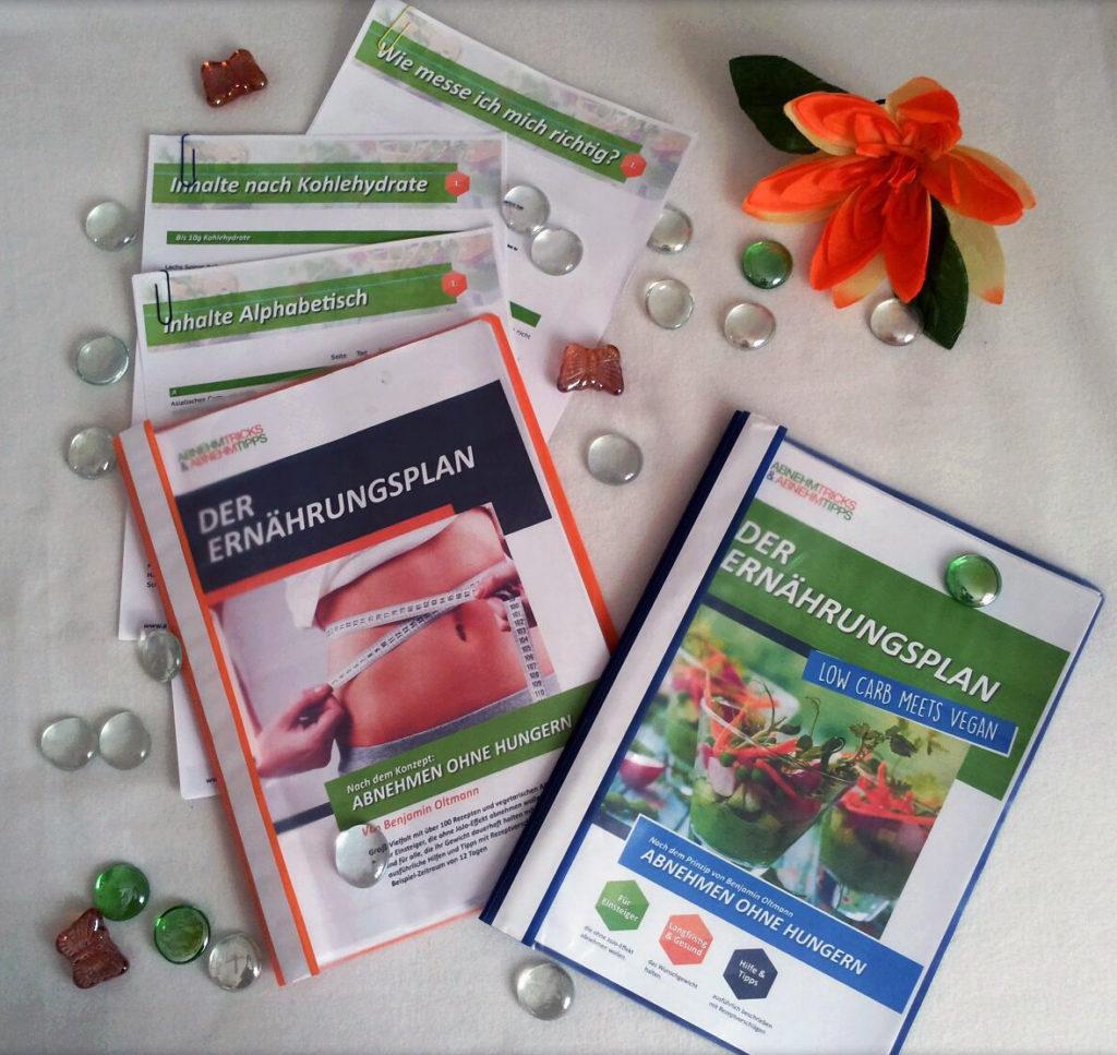 Low Carb Ernährungsplan und der Vegane Ernährungsplan
