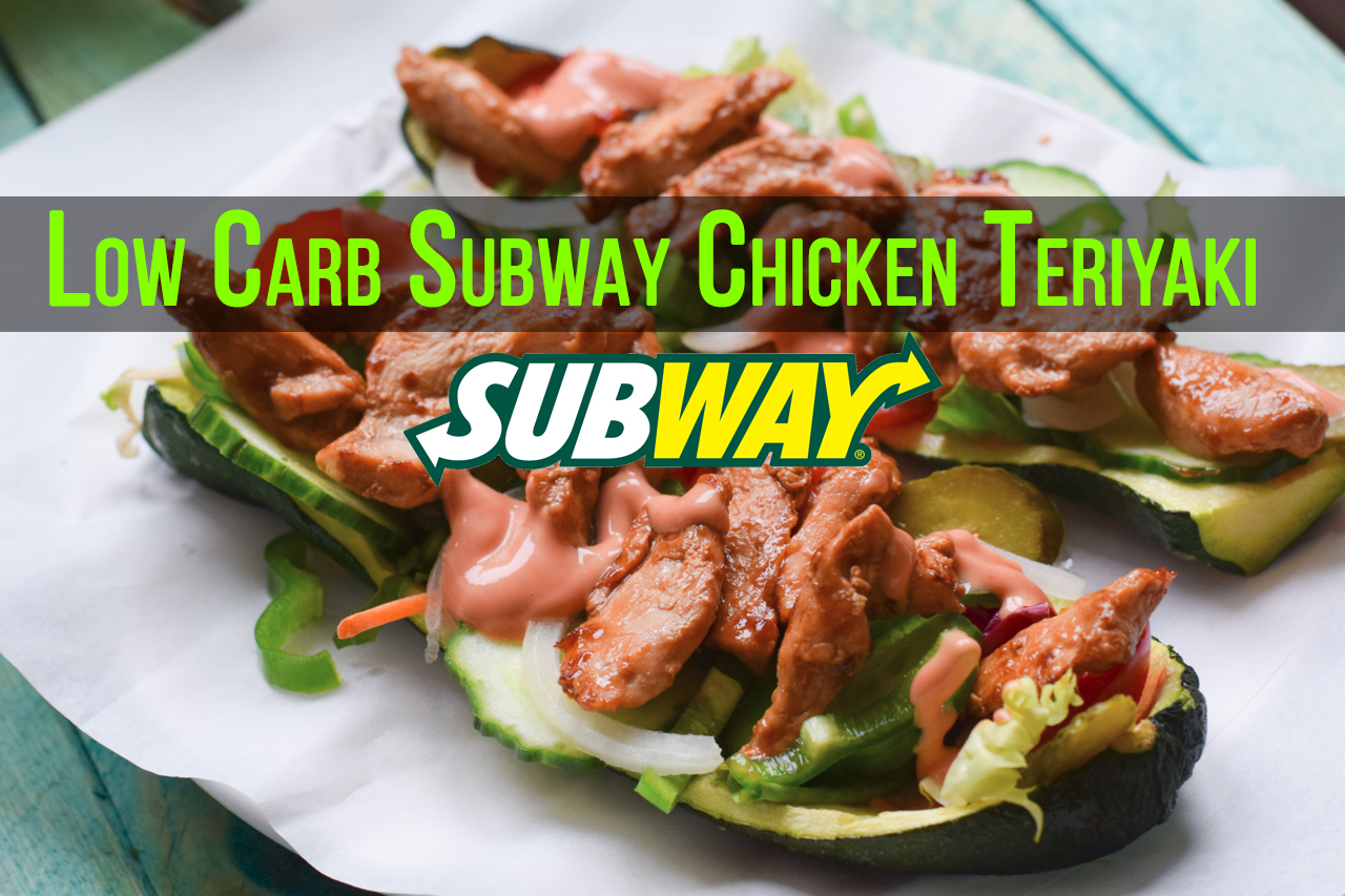 low carb subway chicken teriyaki baguette ultra lecker. Black Bedroom Furniture Sets. Home Design Ideas
