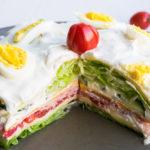 Low Carb Salattorte - super lecker & extrem einfach!