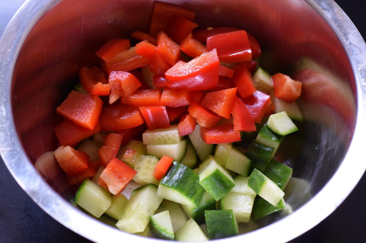 Low Carb Avocado Hahnchen Salat Frisch Und Lecker