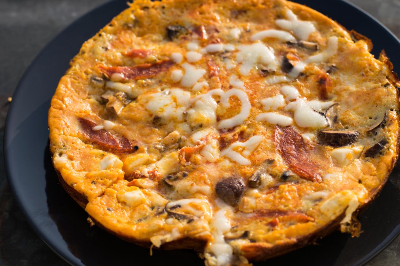 champignon omelette rezept ohne kohlenhydrate