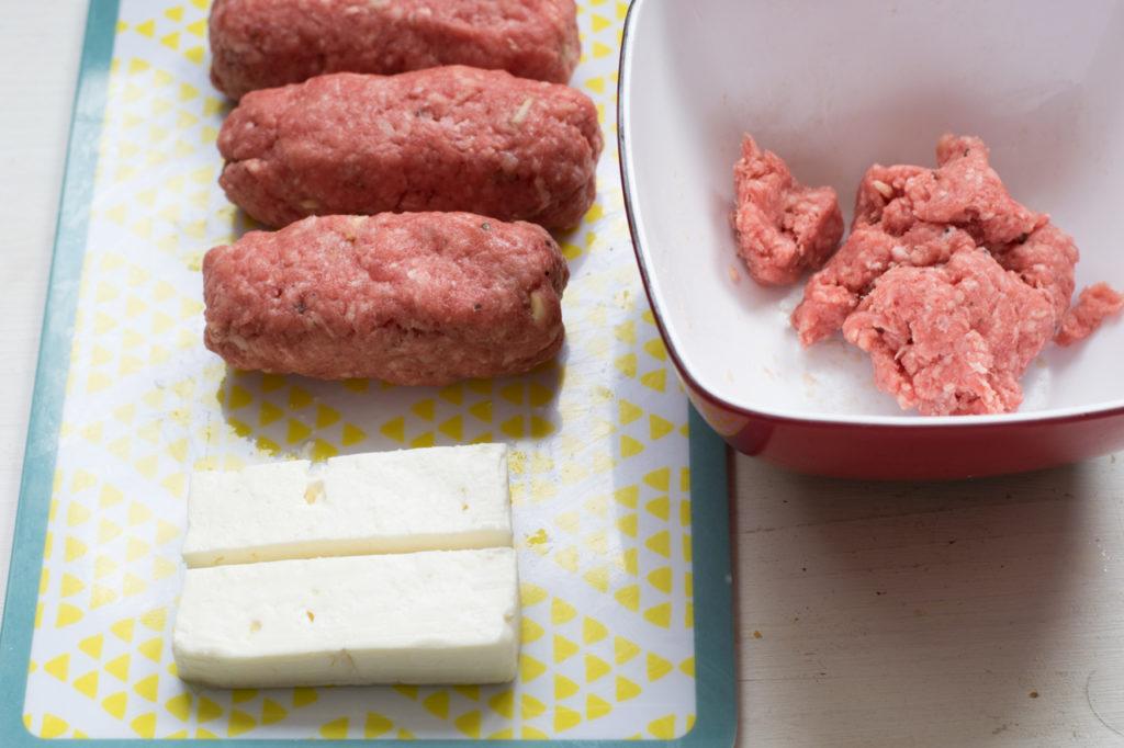 Bifteki formen