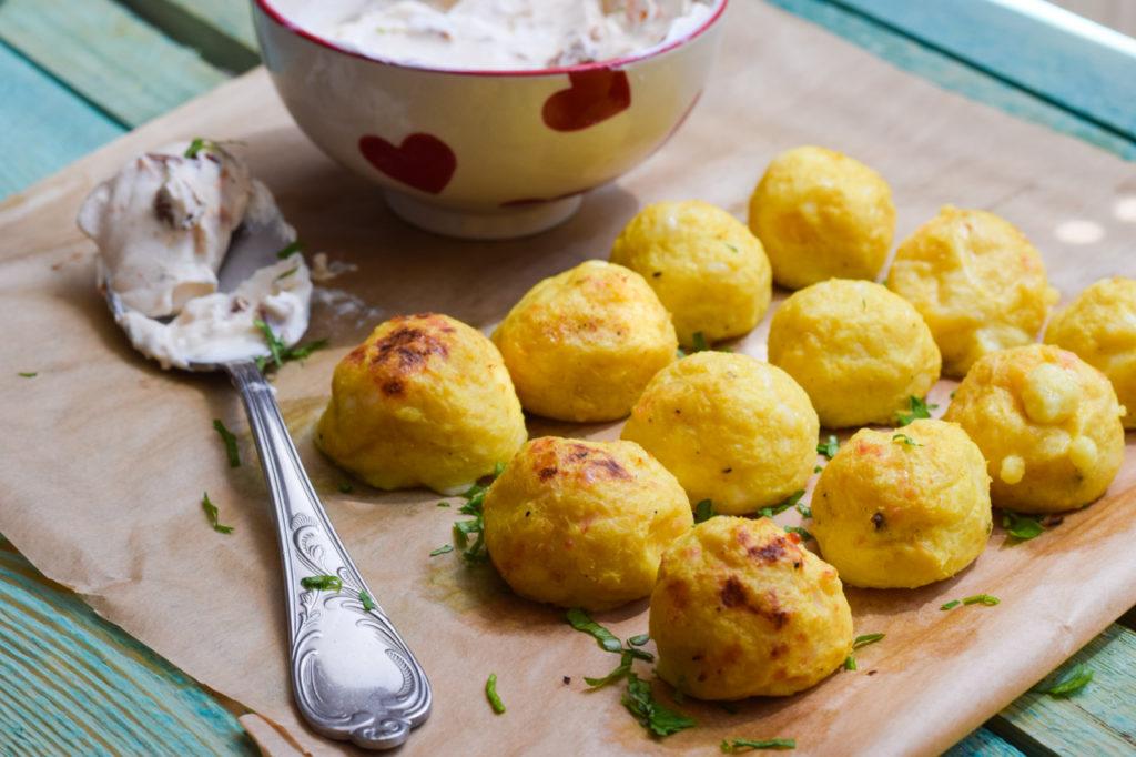 Low Carb Kartoffel-Klöße / Knödel