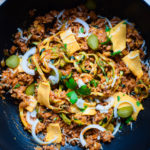 One Pot Pasta - Low Carb - Cheeseburger Style
