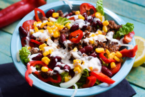 Low Carb Tex Mex Salat