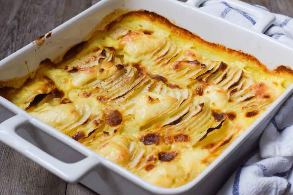 Low Carb falsches Kartoffelgratin / Kartoffelauflauf